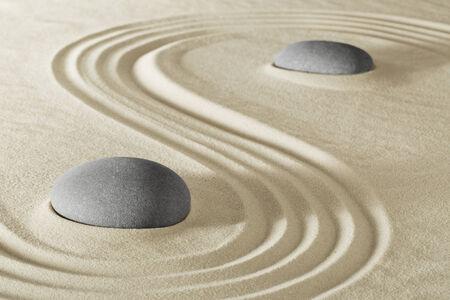 zen garden: zen stone garden