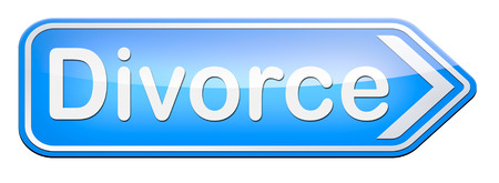 dissolution: divorce papers or document by lawyer to end marriage dissolution often after domestic violence alimony