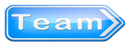 busines: Team or work or business our team banner about us sign