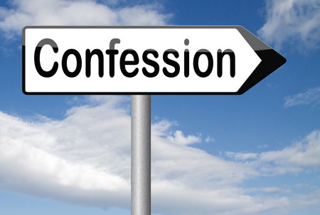 plea: confession to god or jesus plea guilty as charged and confess crime or sin testimony or proof truth
