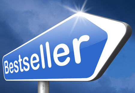bestseller: bestseller top product, most wanted item best seller book