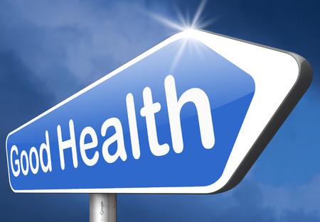 good health: gezond leven een goede gezondheid en vitaliteit energie levend gezonde geest en lichaam