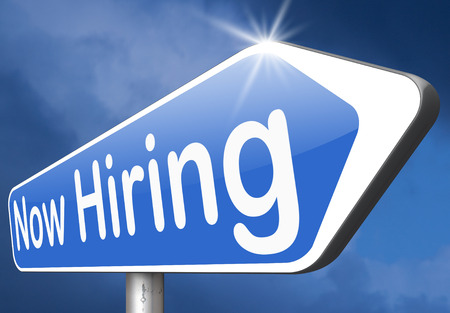 job opening: hiring now new employer job opening or offer search for jobs vacancy help wanted Stock Photo