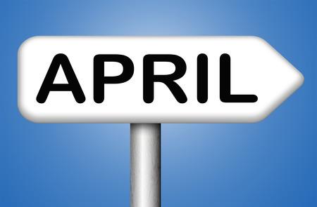 almanac: april spring month event calendar schedule