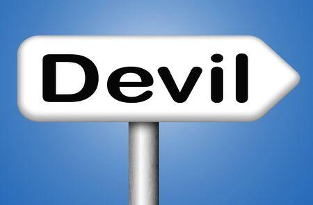 quemadura: diablo mal satan�s arder en el infierno Foto de archivo
