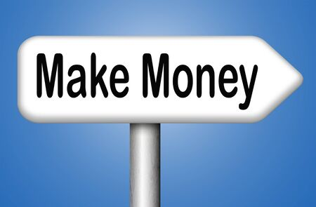earning: money making earning easy money and cash
