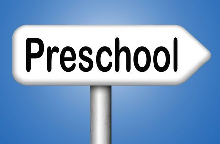 playgroup: preschool education kindergarten nursery school or playgroup
