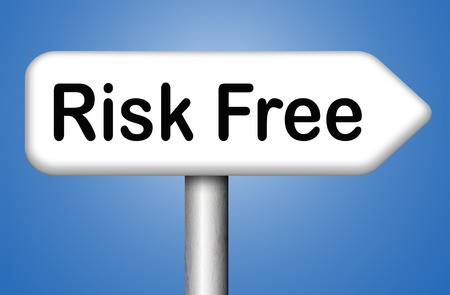 risk free: risk free best quality product Stock Photo