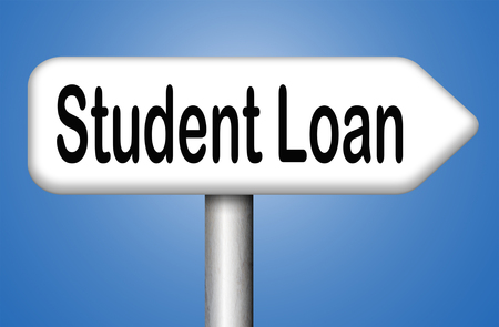 student loan: Student loan for university or college education grant or study scholarship