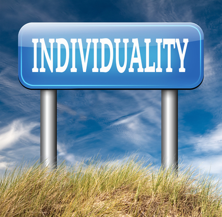 existence: individuality stand out from crowd being different having a unique personality be one of a kind and unique personal development and existence