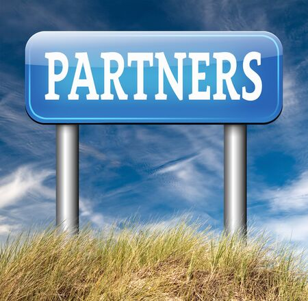our: Partners our business partnership and cooperation group in team work