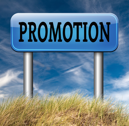 enhancement: job promotion or product summer or winter sales promotion