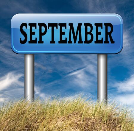 next year: september end of summer and begin fall or autumn month event agenda