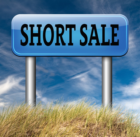 house prices: short sale reduced prices sales banner mortgage foreclosure and house reposession