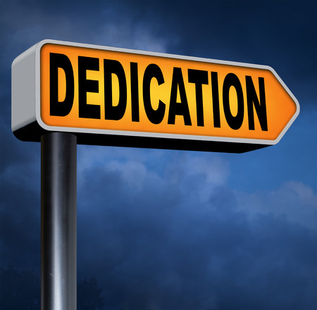 dedication motivation and attitude motivate self for a job letter a talk or task yes we can think positive go for it dedicate yourself road sign photo