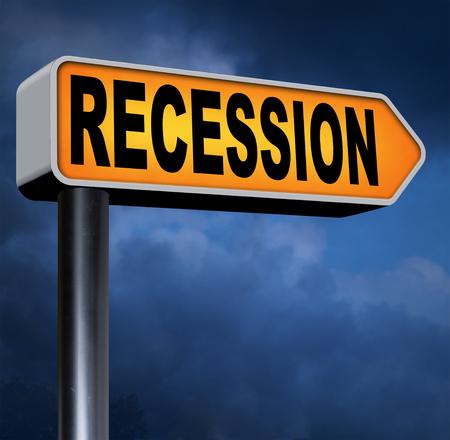 global economic crisis: recession economic market crash global bank and stock market crisis
