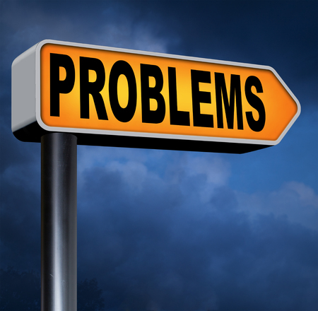 no problem: problems solved solutions found no problem without solution road sign Stock Photo
