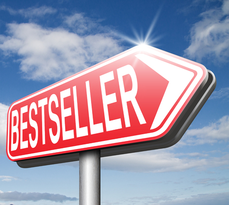most: bestseller top product, most wanted item best selling book and most popular item
