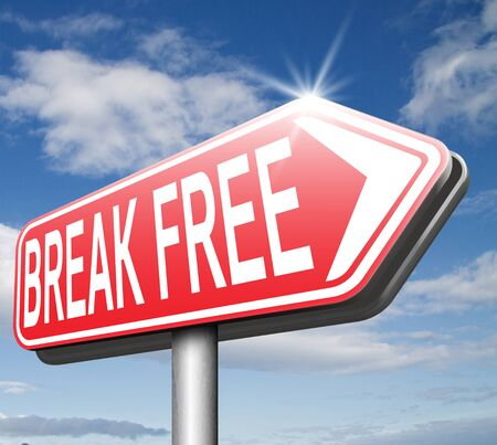 break the rules: break free from prison pressure or quit job running away towards stress free world no rules