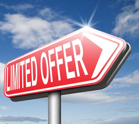 webshop: limited offer edition or stock webshop  or web shop sign Stock Photo