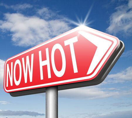 trending: now hot item product or price latest breaking news and now new trending road sign