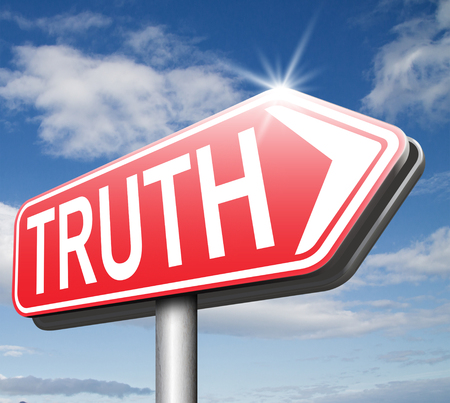 seeking an answer: truth road sign be honest honesty leads a long way find justice law and order