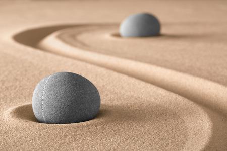 spirituality and spa wellness background zen garden meditation stone Zdjęcie Seryjne