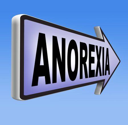 anorexia nervosa eating disorder with under weight as symptoms needs prevention and treatment is caused by extreme dieting, diet and bulimia photo