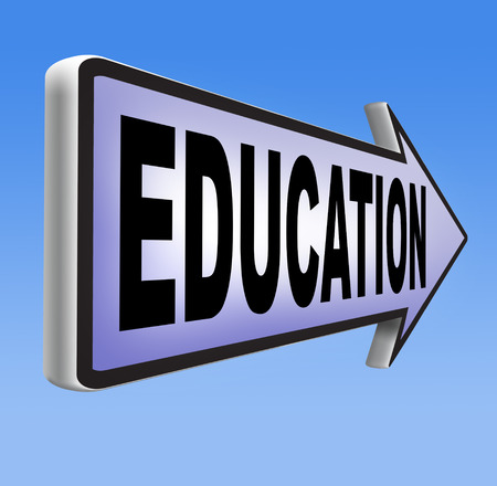 education university high school or college studies, learn and educate yourself and get graduation degree