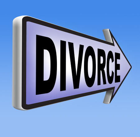 alimony: divorce papers or document by lawyer to end marriage dissolution often after domestic violence alimony