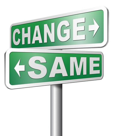 bad habits: change same repeat the old or innovate and go for progress in your life career or relationship break with bad habits