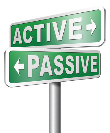 initiative: active passive take action or wait taking initiative and participate