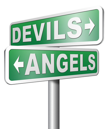 heaven and hell: devils and angels good or bad heaven and hell