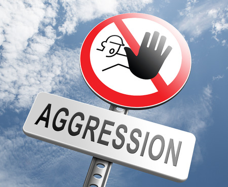 hostility: stop aggression no physical or verbal violance prevention