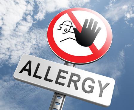 Allergie stop allergieën en allergische reacties overgevoeligheid aandoening van het immuunsysteem astma-aanval hooikoorts