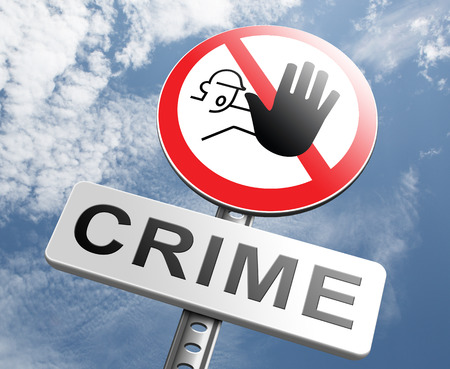 theft prevention: stop crime stopping criminals by neighborhood watch or police force fight criminal behavior stopping violence and arrest offenders or just by prevention