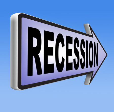 economy crisis: recession  in world economy crisis bank and stock crash economic and financial bank recession market crash Stock Photo
