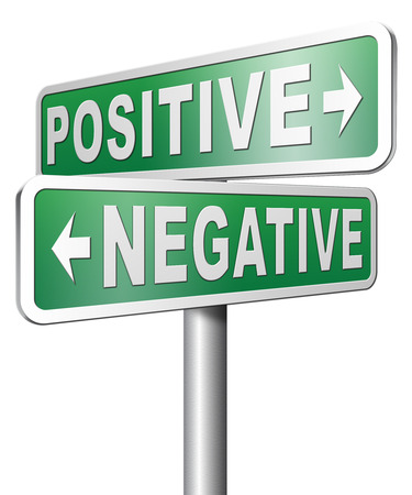 pessimist: positive or negative thinking pessimistic or optimistic view