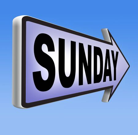 sunday: sunday sign event calendar