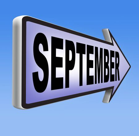 end month: september end of summer and begin fall or autumn month event agenda
