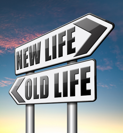 remake: new life versus old life fresh beginning or start again last chance for you by remake or makeover