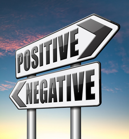 negative thinking: positive ou n�gative penser vision pessimiste ou optimiste