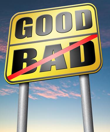 valores morales: buenas mal un dilema moral sobre los valores de la �tica correctas o incorrectas o malas honestos legal o ilegal Foto de archivo
