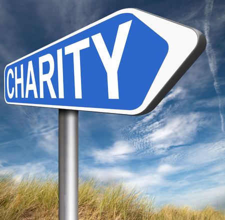 charity collection: give charity donation help the needy giving a gift and donate for a good cause fund raising