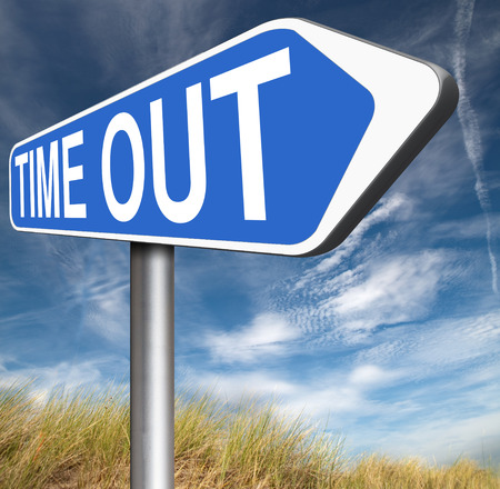 leisure time: time out take a break from stress and work leisure time off relaxation taking a Holliday Stock Photo