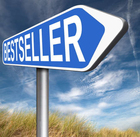 most popular: bestseller top product, most wanted item best selling book and most popular item