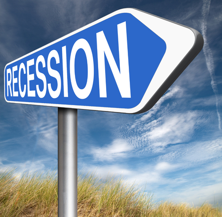 recession: bank crisis recession and stock crash economic and financial bank recession market crash