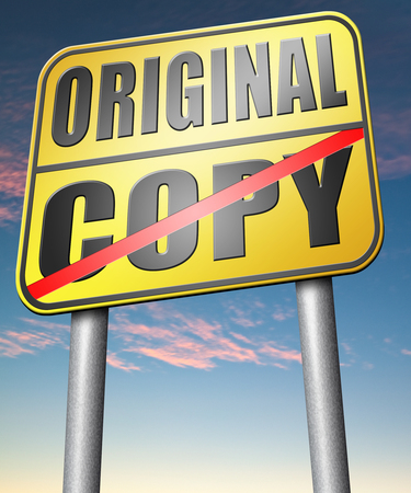 licensing: original copycat originality cheap and bad copy or unique top quality product guaranteed