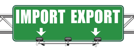 exportation: import and export freight transportation global economy and worldwide business international trading market