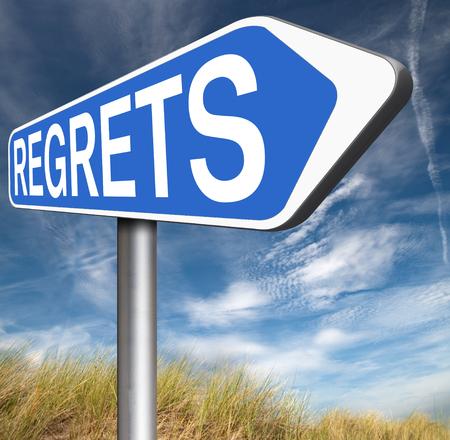 ashamed: lamentan o no se arrepiente diciendo lo siento y ofrecer disculpas avergonzarse por malas decisiones